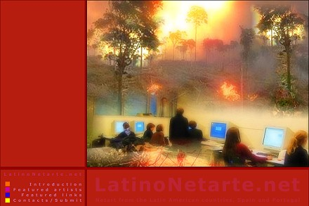 Latino Netarte.net - netart from Latin American countries, Spain & Portugal
